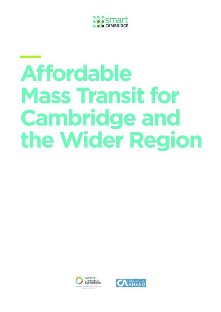 Affordable Very Rapid Transit (AVRT) Report. Vol 1.