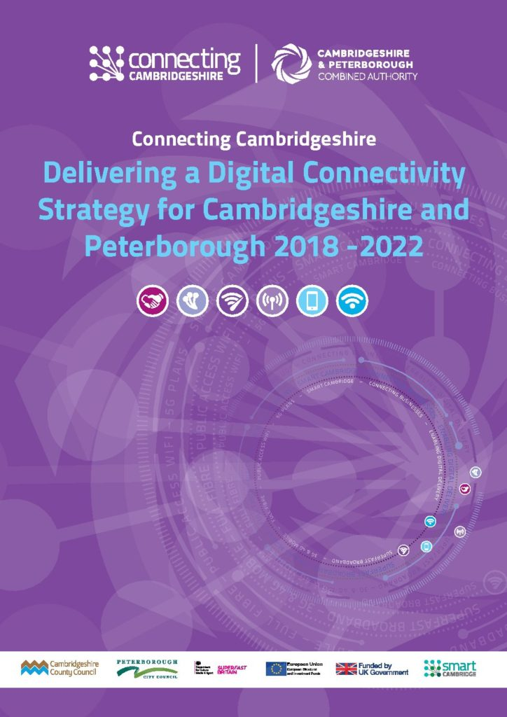 Connecting Cambridgeshire Digital Connectivity Strategy 2018-2022