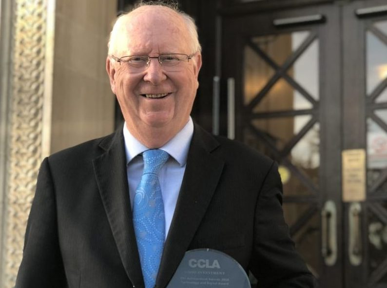 Councillor scoops Technology & Digital Award