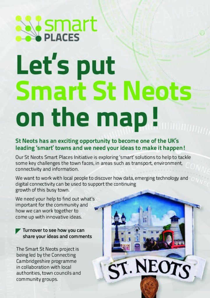 Smart Places Initiative Flyer – St Neots