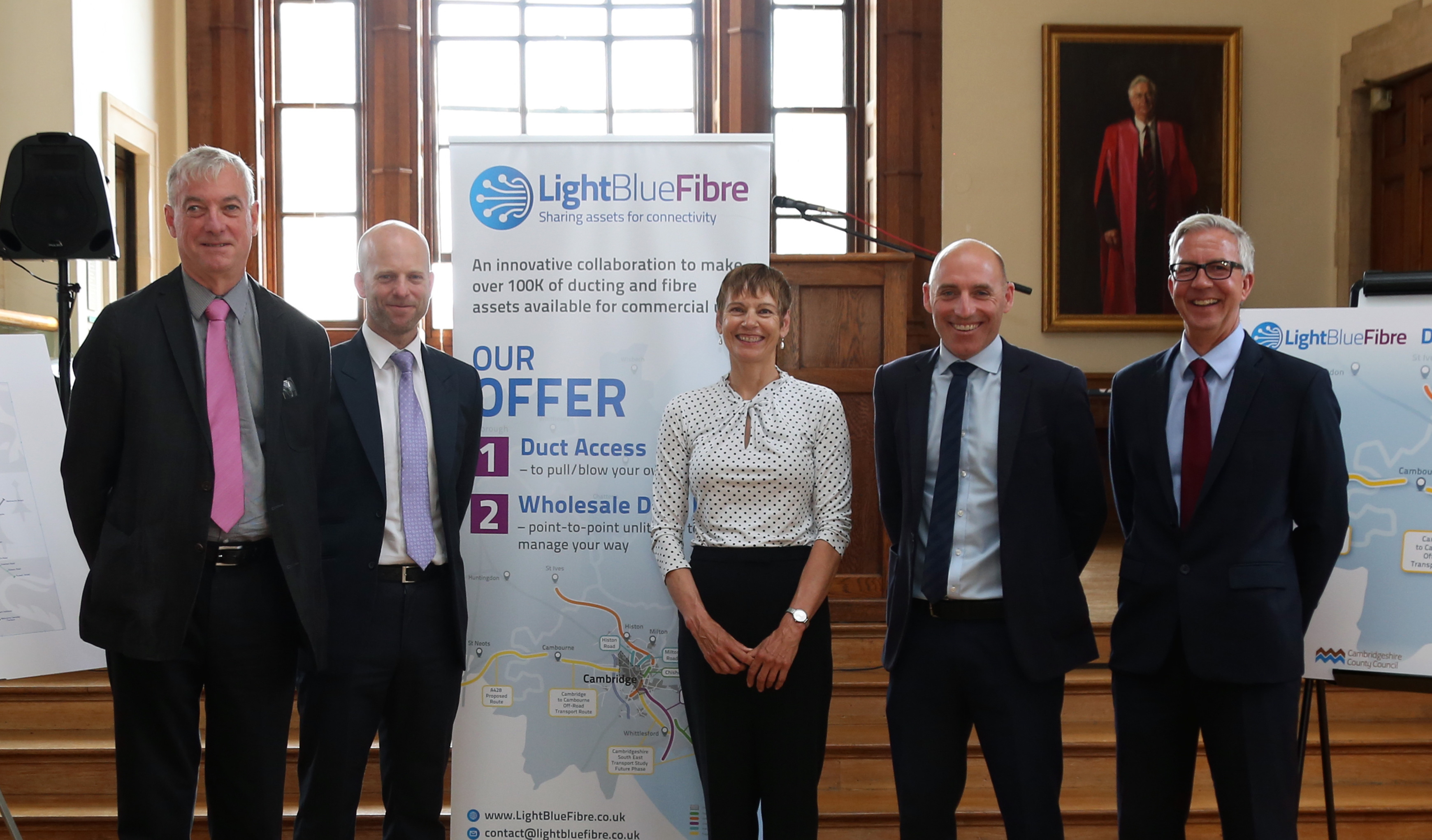 Light Blue Fibre leads the way for full fibre connectivity in Cambridge and beyond