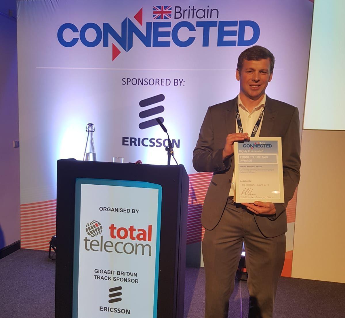 Enabling Digital Delivery service wins award