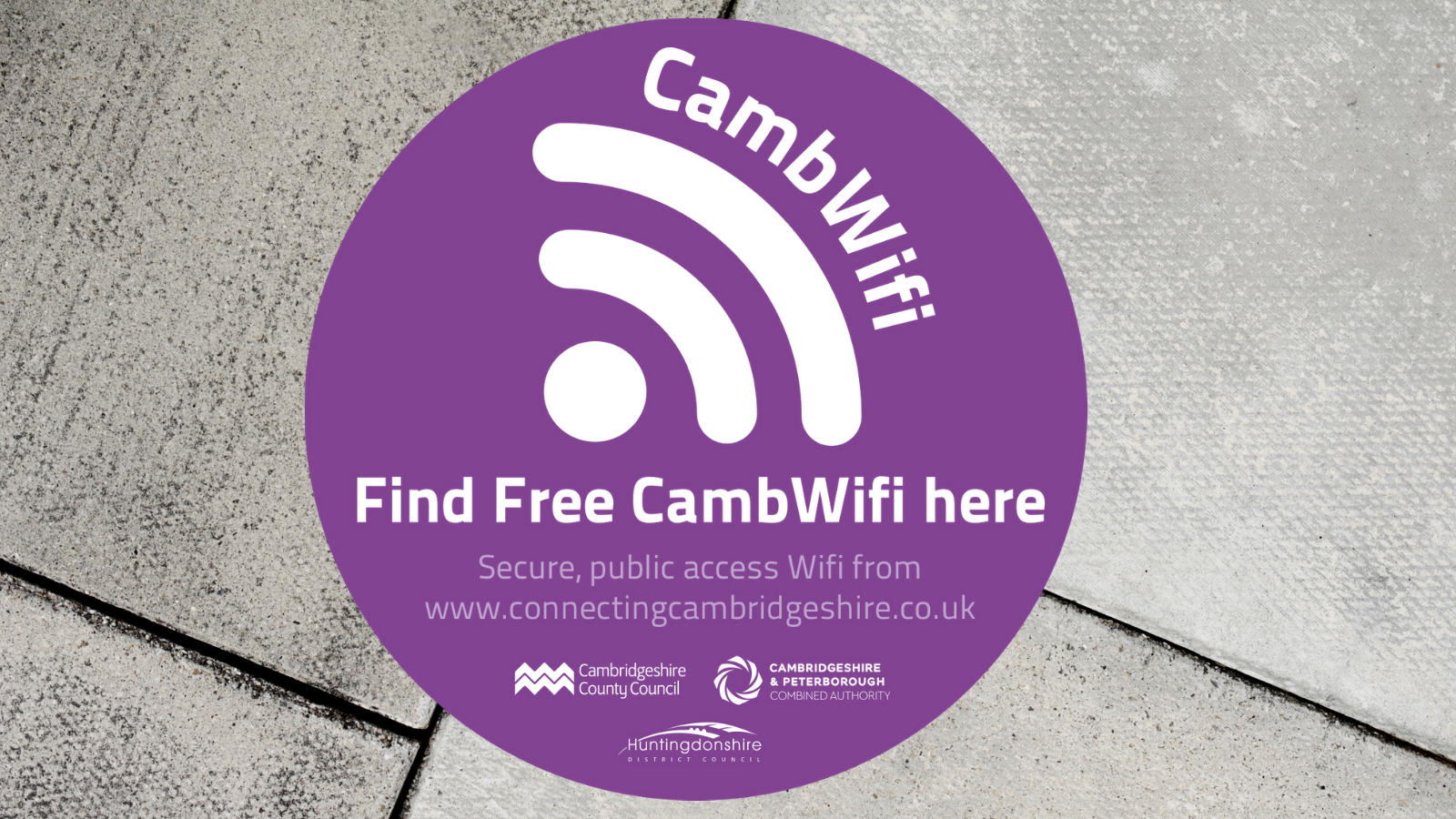 Free Wifi gives Huntingdonshire market towns a pre-Christmas boost
